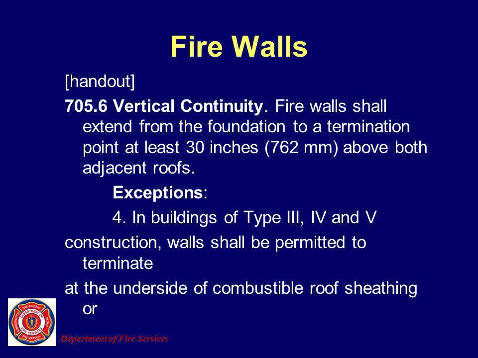 Fire Walls [handout]